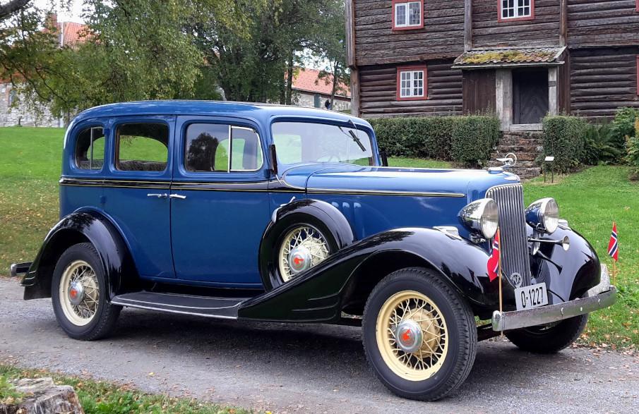 1933 Pontiac Eight for bryllupskjøring