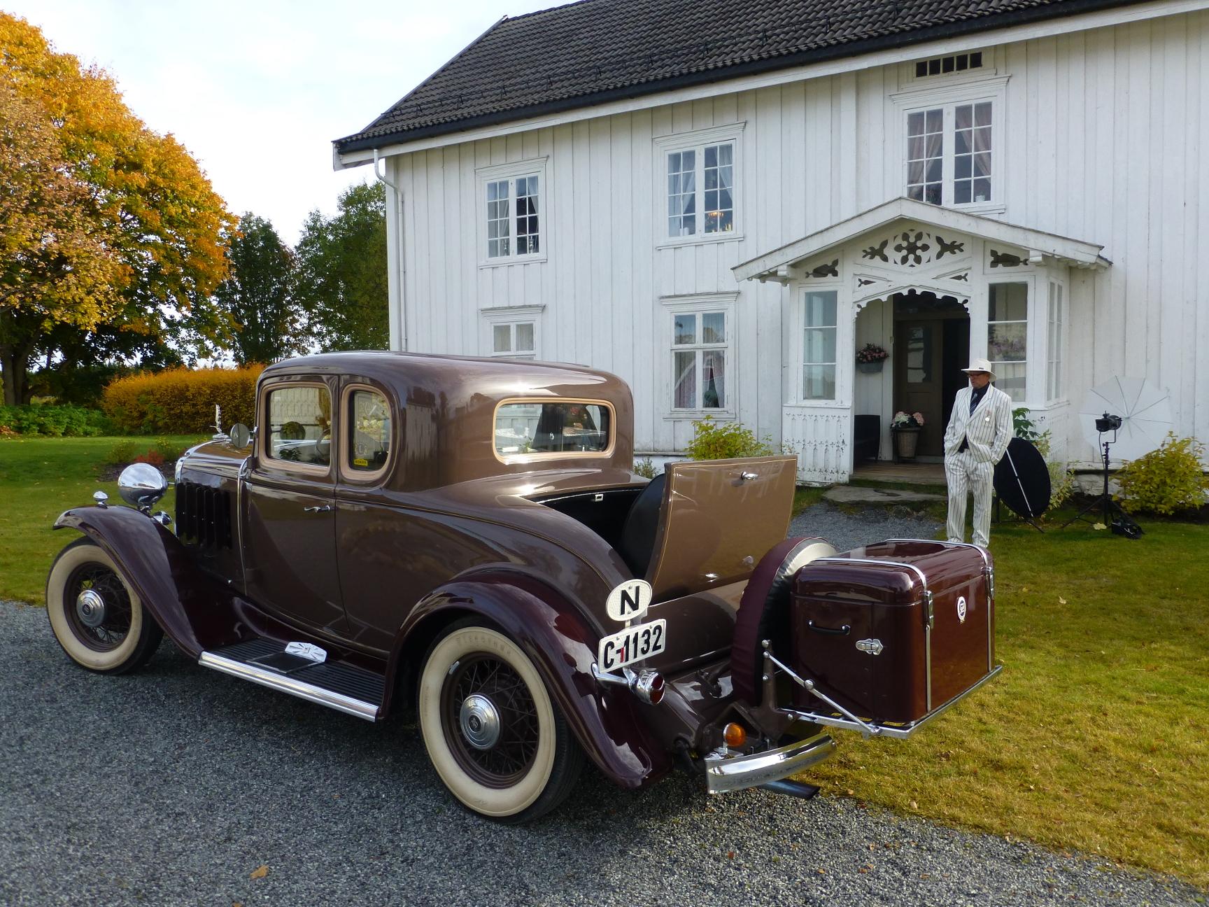 1932 Buick for bryllupskjøring
